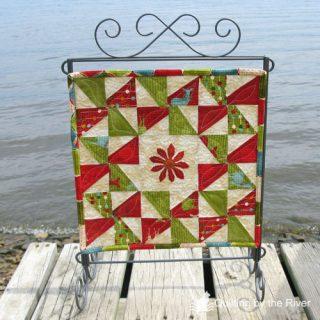 Swirly Pinwheel quilt tutorial