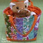 Mini Tote Bag – Easy Tutorial!