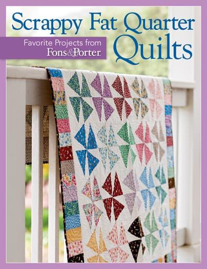 Scrappy Fat Quarter Quilts