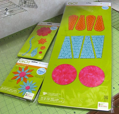 Look what came in the mail – AccuQuilt Dies!