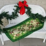 Home for the Holidays Tablerunner Tutorial