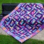 Desert Rose Batik Quilt