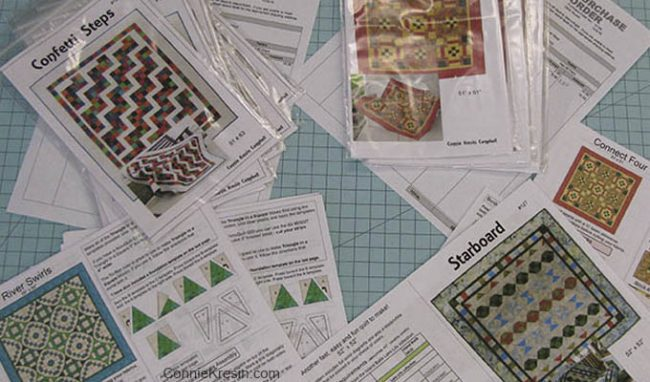 Writing Quilt Patterns