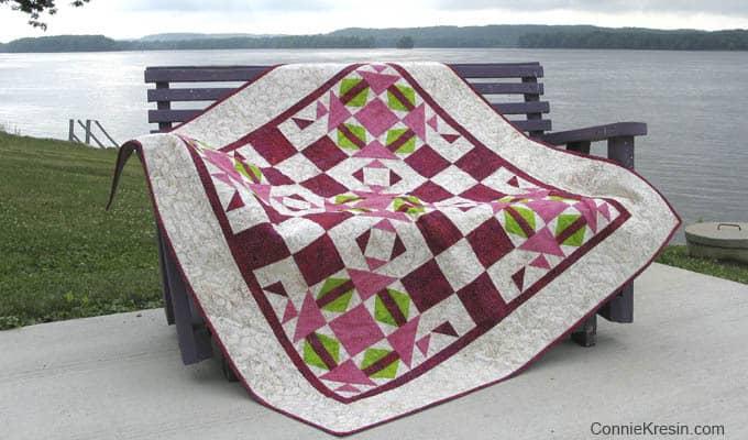 Fractured Quilt Pattern