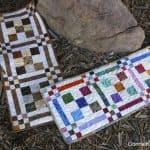 Scrappy Project Planner Checkerboard Quilt