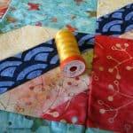 Sneak Peek at another Sunday Drive Batik Quilt