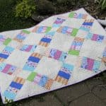 Jelly Roll Railway Free Quilt Pattern
