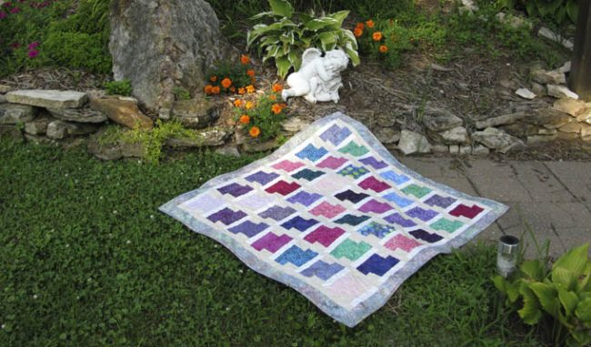 Oh Baby Quilt and Dad is coming home!