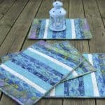 Batik QAYG Placemats Tutorial