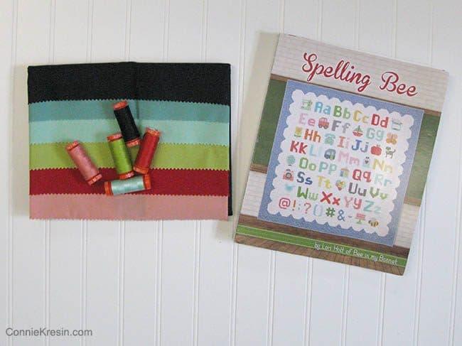 Spelling Bee Sew Along Letter D