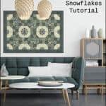 Free Tutorial Alpine Snowflakes