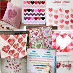 20 Heart and Valentine quilt tutorials