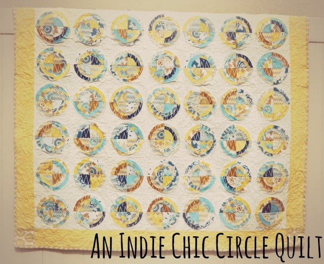 Indie Chic Circle Quilt