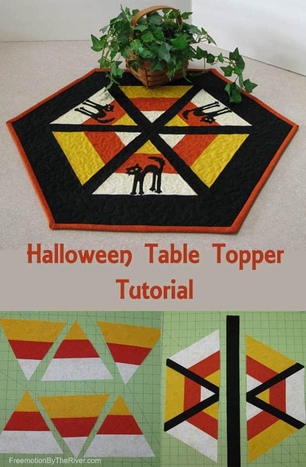 Halloween Table Topper Tutorial
