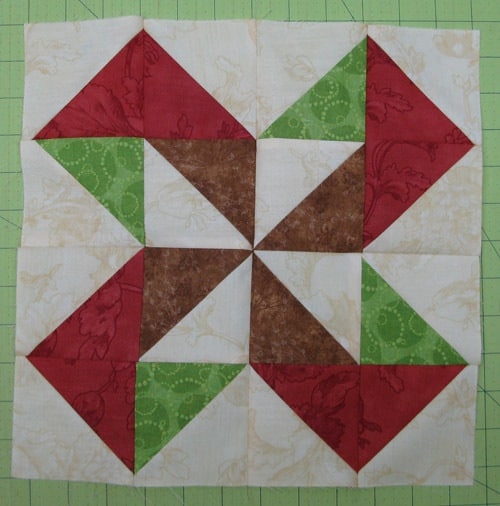 Piecing the HST block