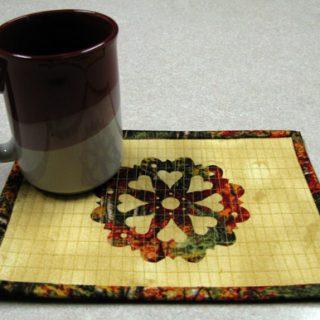 Doily Mug Rug