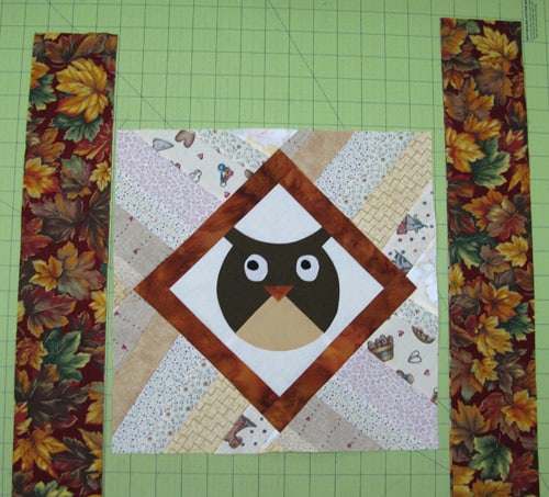 Appliqued Owl pillow tutorial