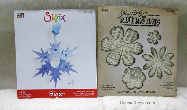 Winter Snowflake Sizzix die cutter
