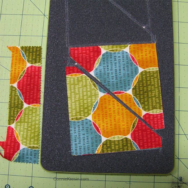 Winter Snowflake cutting HSTs