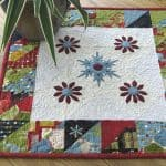 Winter Snowflake Table Topper Tutorial