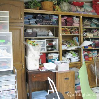 Sewing room chaos remodel