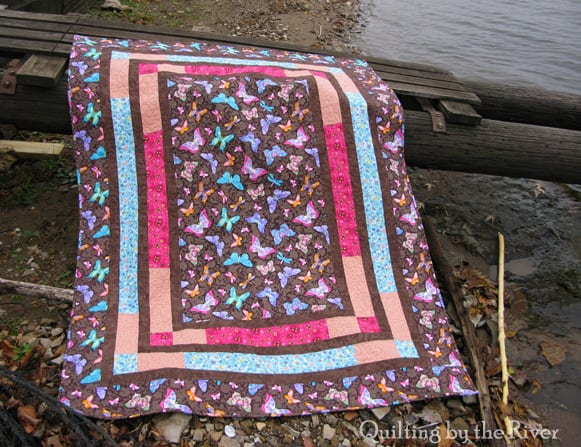Fall Butterflies Quilt