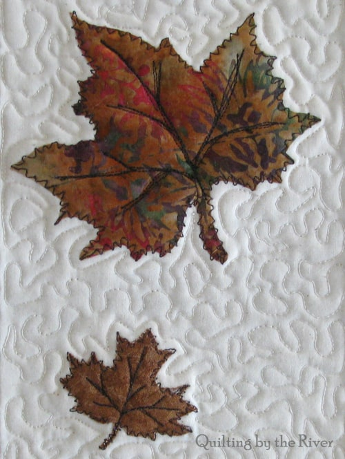 Batik Maple Leaves