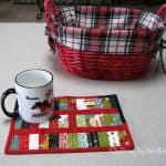 Mug Rug Fast and easy tutorial