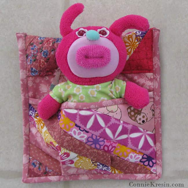 Pink Sleeping Bag for tutorial