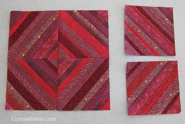 Red String table runner tutorial block layout