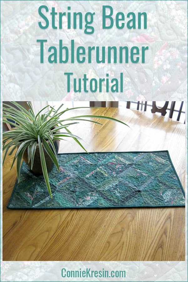 String Bean Table Runner Tutorial