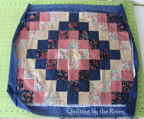 Tutorial for Around the World Quilt