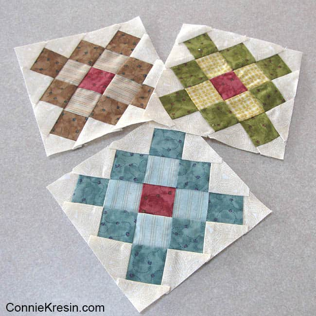 Granny Square quilt blocks to use for table topper