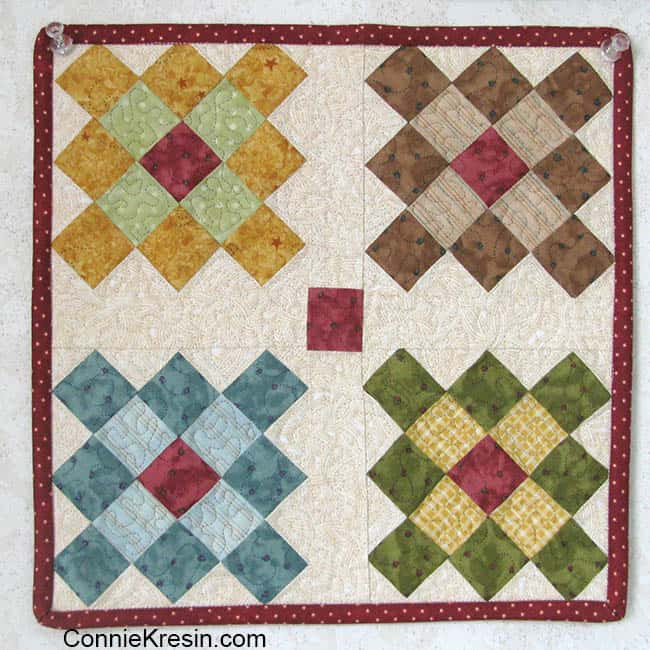Easy to make Granny Square table topper