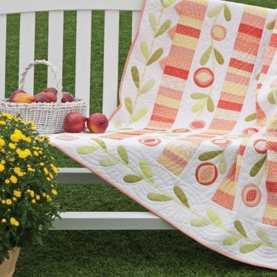 Pomegranate Quilt Free Pattern