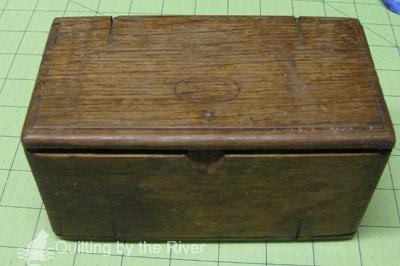 Antique sewing machine attachments