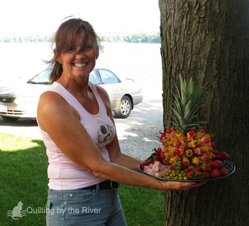 Lucy with Pineapple Fruit