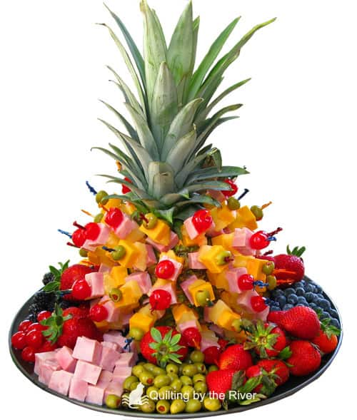 Pineapple Tree of Fruit - ConnieKresin.com