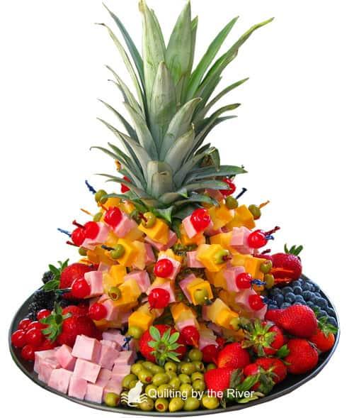 Pineapple Tree of Fruit - ConnieKresin.com