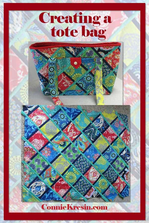 Creating fabric from fat quarters