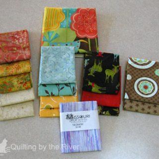 Stash goodies from Missouri Star Quilt Co