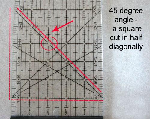 45-degree-ruler