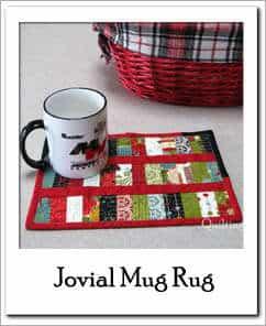 Jovial Mug Rug