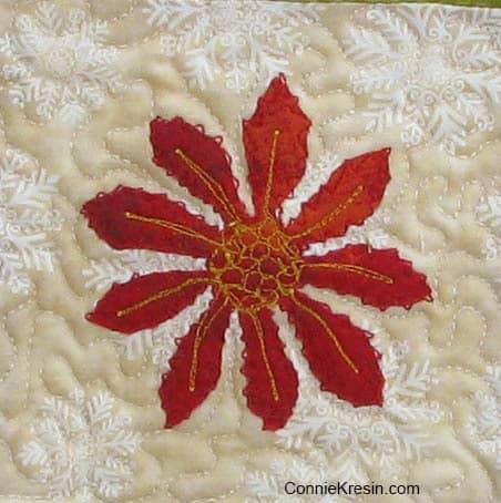 Swirly Pinwheel flower for tutorial