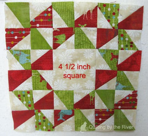 Swirly pinwheel quilt tutorial