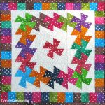 Twister Dots table topper tutorial
