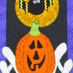 Happy Spooks Halloween Wall Hanging