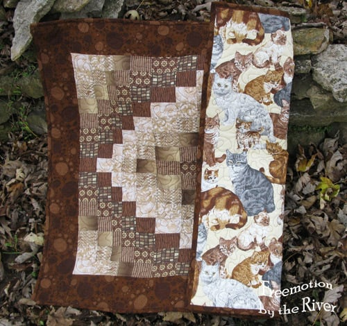 Bargello Fall Quilt