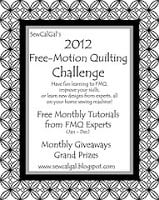 2012 Free-Motion Quilting Challenge