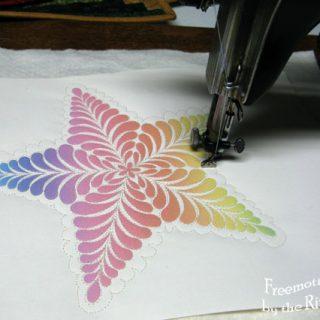Kaleidoscope Kreator 3 Feathered Star